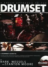 Mark Wessels: A Fresh Approach To The Drumset Drums Sheet Music, CD Backing Trac