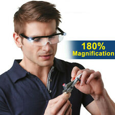 LED magnifying glasses loupes 180% Magnifier glasses With Led Lighting Lamp
