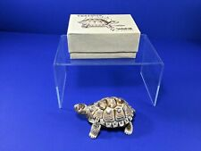 """Vintage Wade, 3.5"""" Porcelain Tortoise Trinket Dish, Made in England, New In Box"""
