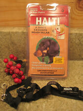 HALTI HEADCOLLAR by TOP PAW SIZE 0 BLACK  STOPS PULLING EUC