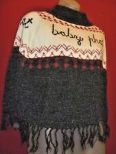 ~~BABY PHAT Red White Blue Signed Fringed Poncho One Size~~