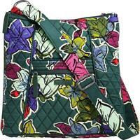 New Vera Bradley Hipster cotton crossbody Bag in FALLING FLOWERS