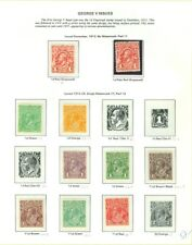 EDW1949SELL : AUSTRALIA Beautiful collection of all VF MOG with some NH Cat $992