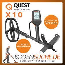 Deteknix Quest X10 Metalldetektor -> Neuware vom Fachhändler