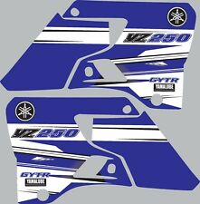 Graphics for 1996-2001 Yamaha YZ250 YZ 250 shrouds Decal Stickers