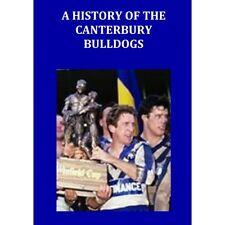 Rugby League Book - A History of the Canterbury Bulldogs