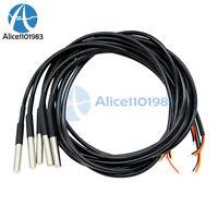 1Pcs Waterproof Digital Thermal Probe or Sensor DS18B20 Length:1M