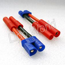 EC3 Stecker auf 4mm HXT Buchse 12AWG !!! Adapter Lade Kabel LiPo Akku