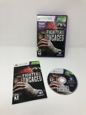 Fighters Uncaged XBox 360 Requires Kinect Rated T Case Disc Manual Tested Works