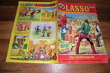 LASSO  # 403  vom 1.1.1976 -- die WAFFENBANDE // mit Indianer-Lexikon