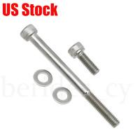 Stainless Steel Oil Filter Cover Bolts Screws Kit For Honda TRX400EX TRX450R 2x4