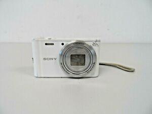 Sony Cyber-shot DSC-WX350 18.2MP Digital Camera - White  B36