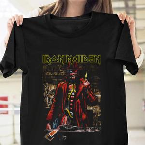Iron Maiden Somewhere in Time Steve Harris T-Shirt Mens Unisex