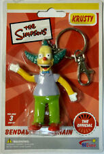 Simpsons Krusty the Clown Bendable figure Keychain Keyring