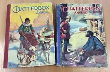 Two Vintage Chatterbox Annuals