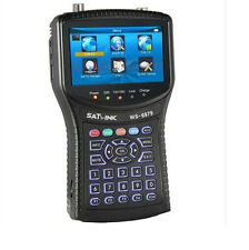 Satlink WS-6979 DVB S2/T2 Combo spectrum constellation Satellite Meter finder