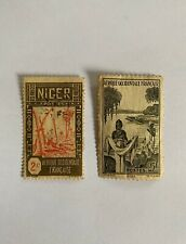 Timbres anciens NIGER Colonie francaise AOF / Niger stamps / NEUFS et Obl