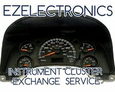 "2003 TO 2007 CHEVY EXPRESS GMC SAVANA INSTRUMENT SPEEDOMETER CLUSTER ""EXCHANGE"""