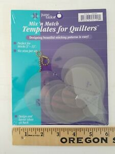 June Tailor Mix 'n Match Templates For Quilters 6Pkg HEART Hearts quilt template