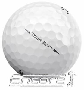 20 Titleist Tour Soft Golf Balls Pearl / A Grade Golf Balls