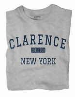 Clarence New York NY T-Shirt EST