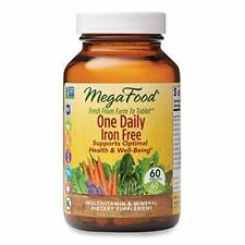 MegaFood One Daily Iron Free Multiv. and Mineral Dietary Supplement 60 Tablets