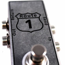 True Bypass EFFECTS LOOP/Looper Pedal, Guitar/Bass -  (Route 1)
