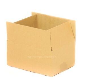 100x Faltkarton Karton 240 x 130 x 130 Faltschachtel Verpackungen Versandkarton