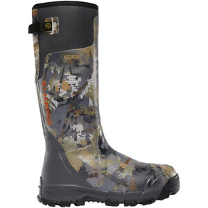 Lacrosse Men's 376014 Alphaburly Pro Optifade Timber 800G Hunting Shoes Boots