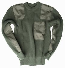 German Army Style Jumper Olive Green - Commando Military Pullover Sweater Top