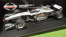 F1 McLAREN MERCEDES MP4/16 #4 COULTHARD au 1/18 MINICHAMPS 530011804 voiture