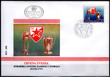 YUGOSLAVIA 1992.Football Club Red Star,FDC