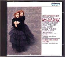 Güher & Süher PEKINEL: BERNSTEIN Westside Story GERSHWIN BARTOK for 2 Pianos CD