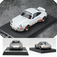 Car Model 1:64 Porsche 930 RWB RAUH-Welt Begriff Ducktail Wing Limited