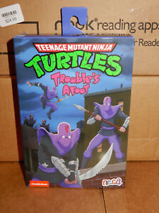 """NECA TMNT 7"""" Ultimate Trouble's Afoot Foot Soldier Target EXCL FREE SHIP!!"""