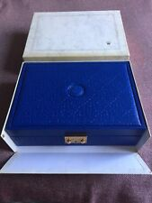 100% ALL ORIGINAL ROLEX OUTER & INNER 51.00.01 PEARL MASTER WATCH & JEWELRY BOX