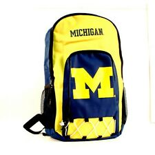 Michigan Wolverines Premium Backpack Heavy Duty Echo Design University of