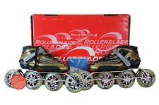 Rollerblade Problade Limited Mens Race Inline Skate Gold Italy Fuel 100MM 7.5US