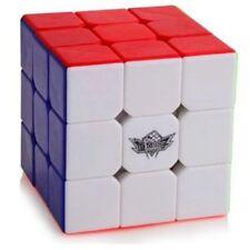 Cyclone Boys 3x3x3 Magic Cube Stickerless Speed Puzzles Twist Rubik Kids Toy