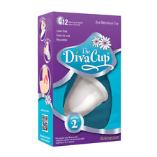 The Diva Cup Soft Silicone Menstrual Cup Reusable Leak Free Model 2
