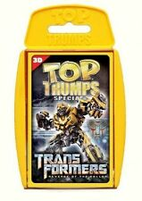 TRANSFORMERS REVENGE OF THE FALLEN TOP TRUMPS SPECIALS NEW AND SEALED