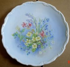 Royal Albert Collectors Plate PRIMROSE BEDS From SHAKESPEARES FLOWERS
