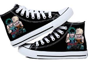 My Hero Academia Izuku Midoriya Bakugou Katsuki Cosplay High-top canvas shoes