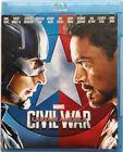 Blu-ray Captain America Civil War - Marvel 2016 Usato