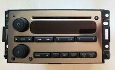 2006-2010 Gm Hummer H3 H3T Chrome Single Disc Cd Player Am/Fm Radio 15261536