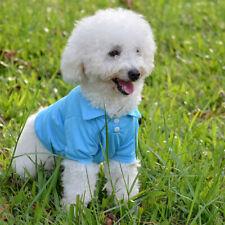 Spring Pet Puppy Dog Vests T Shirt Cotton Cat Costumes Dog Clothes Coat Apparel