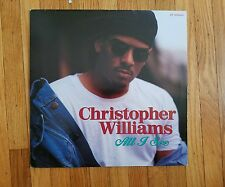 Christopher Williams - All I See Near Mint Vinyl LP Near Mint record Cover