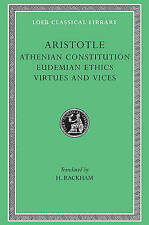 The Athenian Constitution by Aristotle (Hardback, 1935)