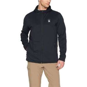 Spyder Men's Capitol Full Zip Hooded Insulator Jacket NEW Snow Ski Apparel