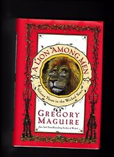 A LION AMONG MEN---GREGORY MAGUIRE---HC/DJ---1st1st2008---WILLIAM MORROW
